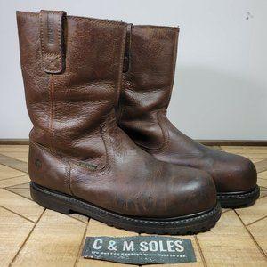 WIDE Wolverine Iron Ridge II Waterproof Steel Toe Work Boots  W08506